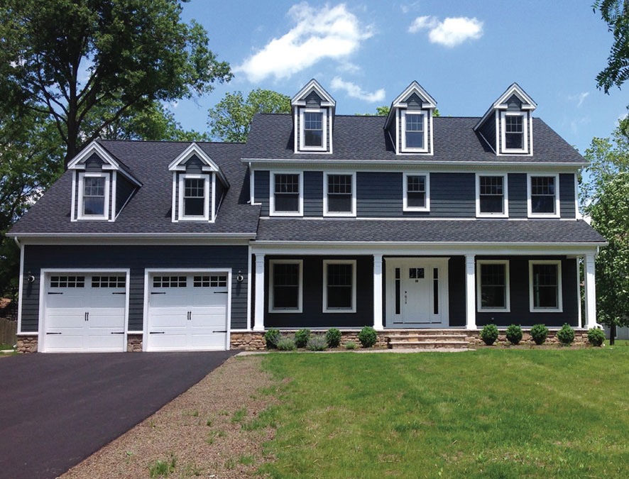 Custom Built Traditional Colonial Home by Rica Builders in New Jersey