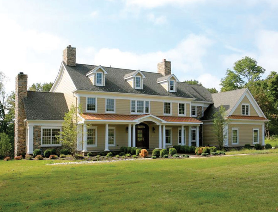 Custom Built Stately Homestead by Rica Builders in New Jersey